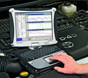 Toyota vehicle diagnostics